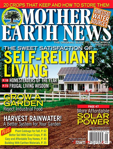featured in Mother Earth News magazine